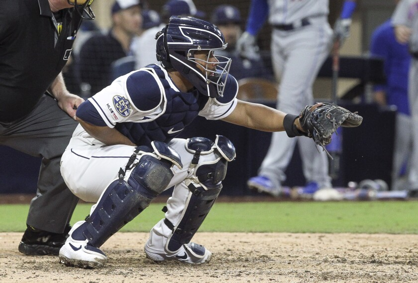 Francisco Mejía has worked on all aspects of being a catcher, is getting more playing time with Padres.
