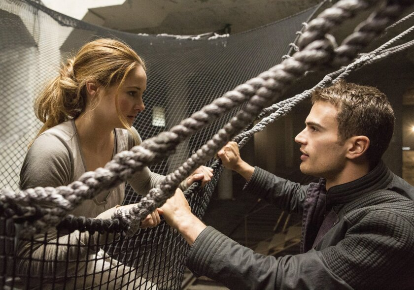 """Shailene Woodley and Theo James star in """"Divergent,"""" part of the film library that will be available to subscribers of a new video streaming service being launched in China by Lionsgate with Chinese e-commerce group Alibaba."""
