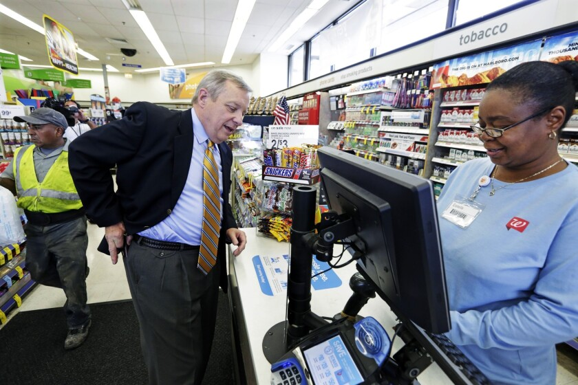 Walgreen turns down inversion that would cut tax bill - Los ...