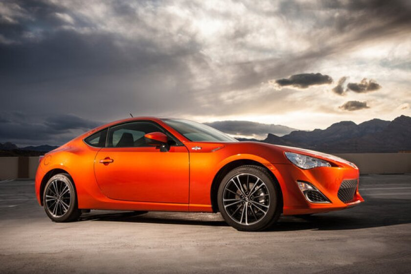 The Scion FR-S (twin to the Subaru BRZ)