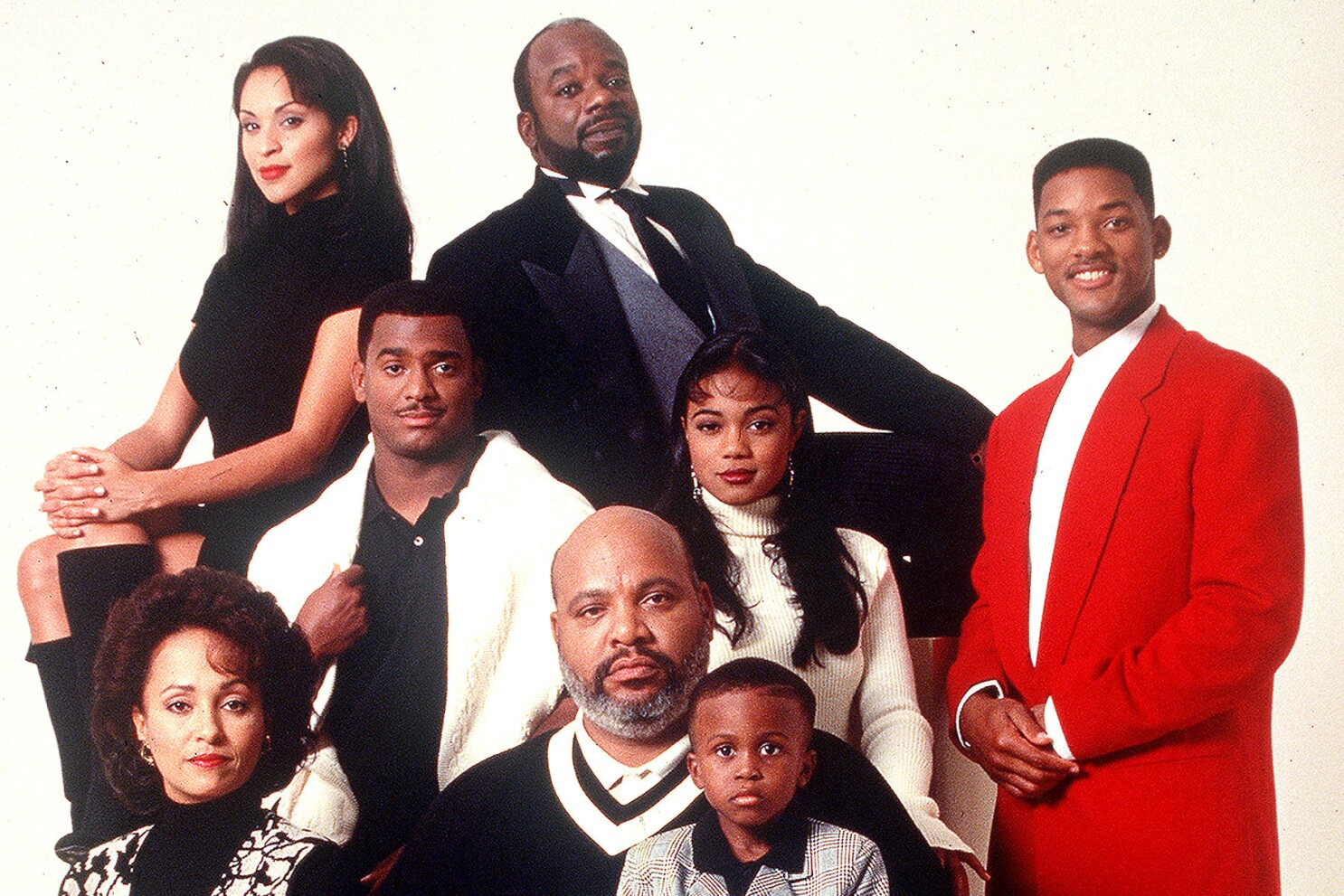 Will Smith Fresh Prince Of Bel Air Cast Salute James Avery Los Angeles Times