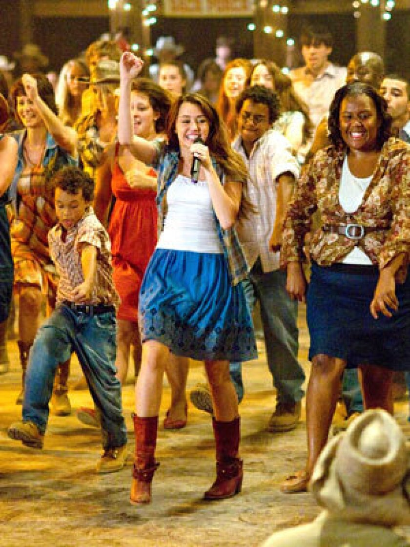 DOWN-HOME: When Hannah Montana leaves L.A. for Nashville in the movie, she dons an array of country girl looks.