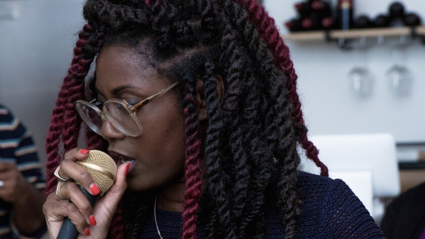 In addition to rapping about video games and depression, Sammus raps about racism and police brutality.