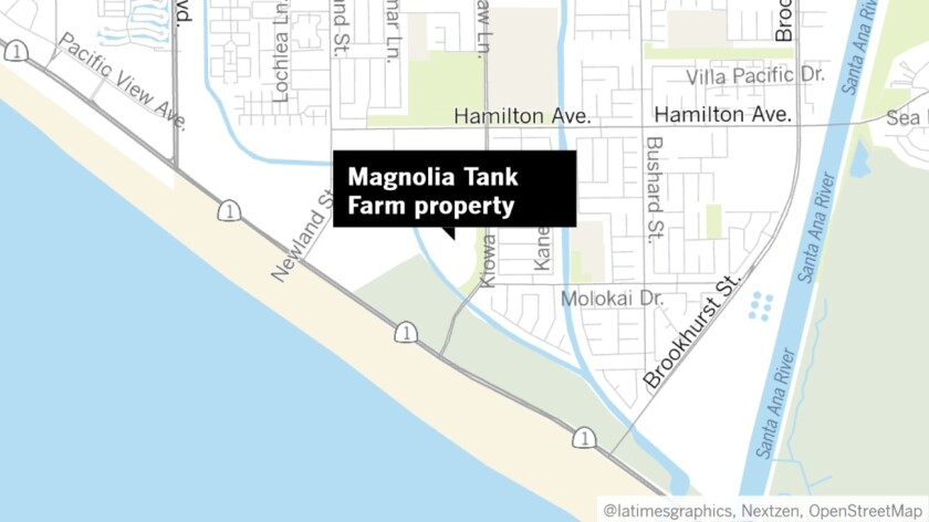 H.B. Planning Commission approves use of Magnolia Tank Farm site for car dealership storage