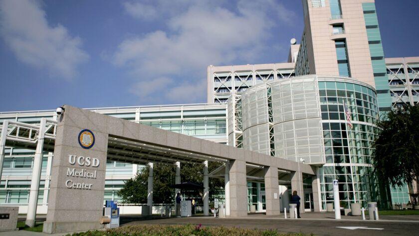 UC San Diego Medical Center in Hillcrest.