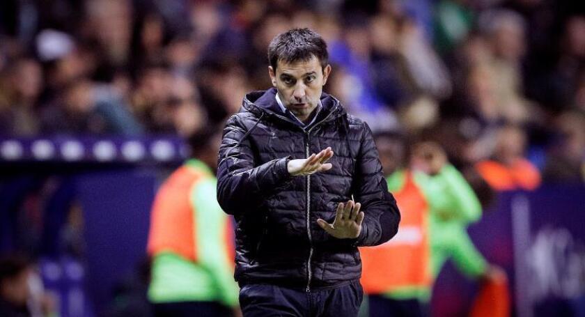 El entrenador del Real Sociedad, Asier Garitano. EFE/Archivo