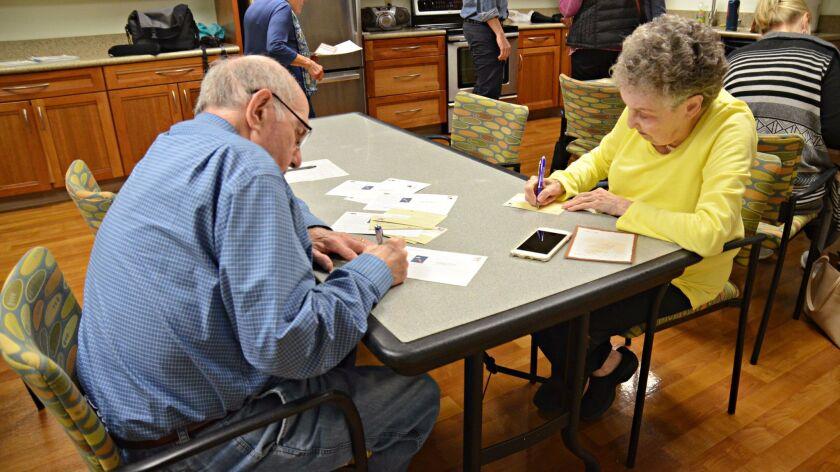 Saul Glickman and Shirley Glickman