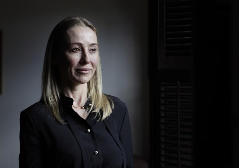 ARCADIA, CA-MARCH 28, 2019: Belinda Stronach, CEO of The Stronach Group that owns the Santa Anita ra
