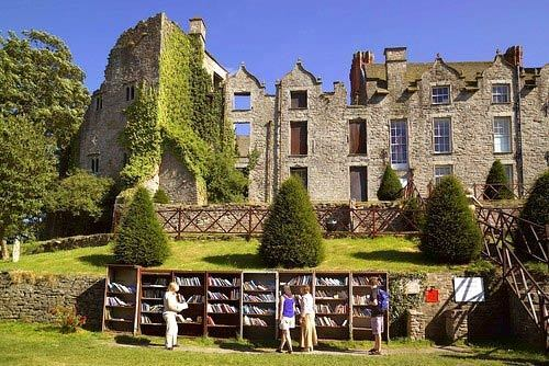 Hay Castle and Book Stalls