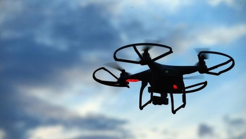 The San Diego County Sheriff's Dept. has begun using drones.