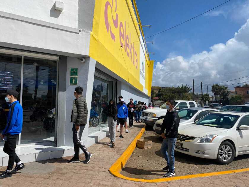 Elektra store in Rosarito