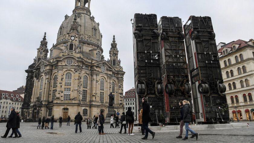 Art installation Monument in Dresden