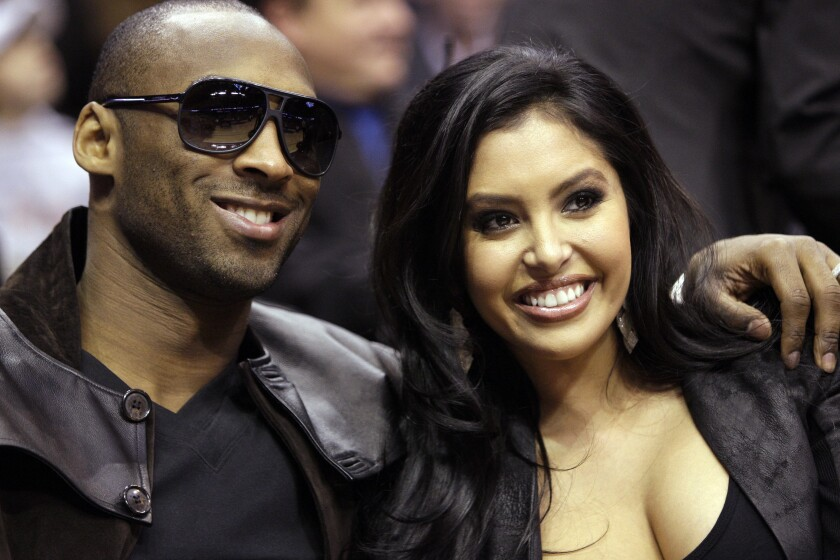Lakers guard Kobe Bryant and his wife, Vanessa, attend an event in Dallas in 2010.