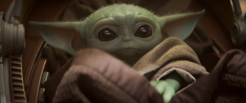 Disney Plus+ Baby Yoda