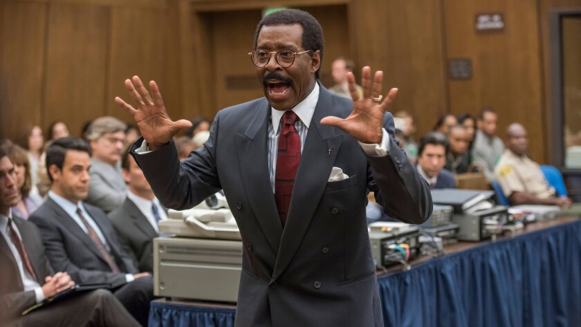 """Courtney B. Vance in """"The People v. O.J. Simpson."""""""