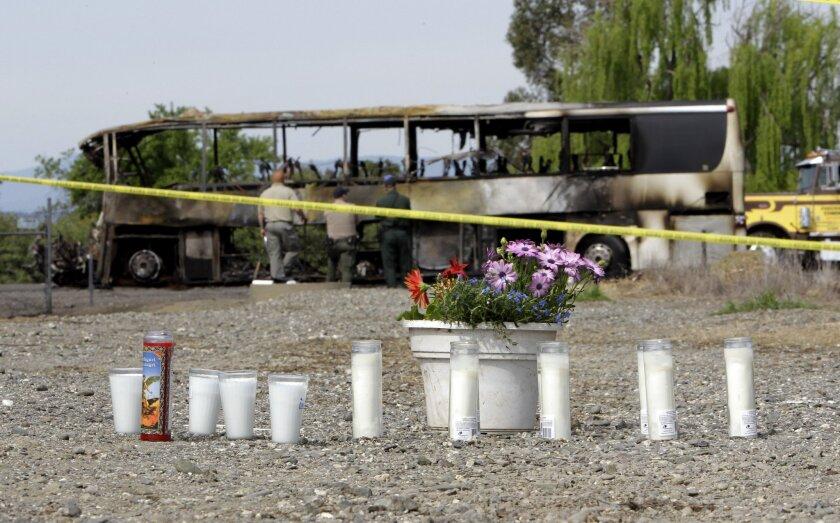 Bus Crash in Orland