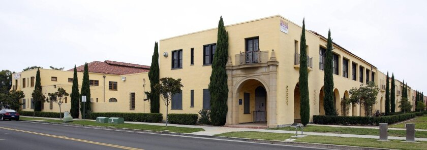 Developers plan to transform the last of the old barracks buildings and officers' quarters at Liberty Station into a 95-room boutique hotel complex.
