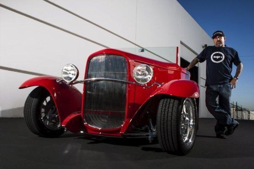 SEMA: American Hot Rods rebuilds a Boyd Coddington Ford Roadster