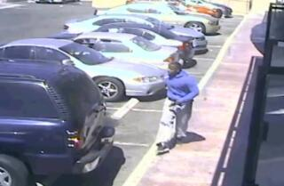 Surveillance video: Carnell Snell Jr.