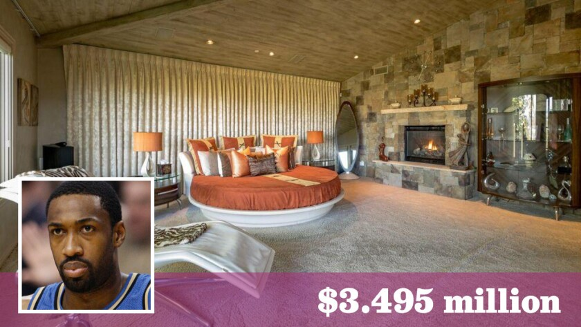 Former NBA All-Star Gilbert Arenas has put his hilltop home in Encino on the market for $3.495 million.