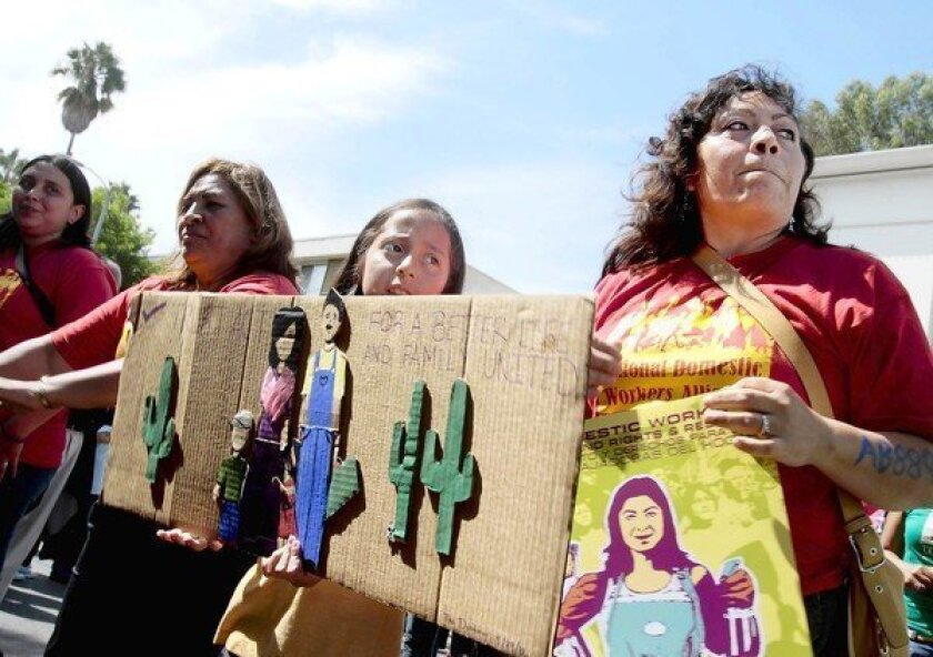 Gov. Jerry Brown's split annoys immigrant-rights advocates