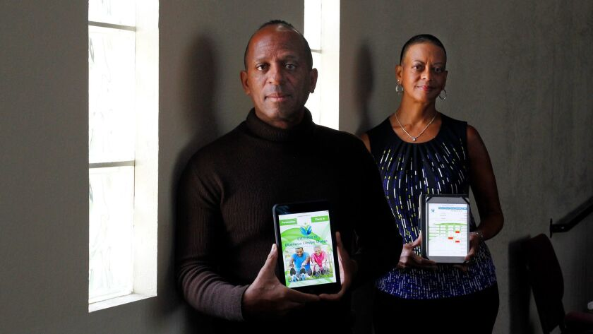 Tony Broyld and Dr. Suzanne Afflalo custom-created apps for the Faith-Based Heart Health Initiative.