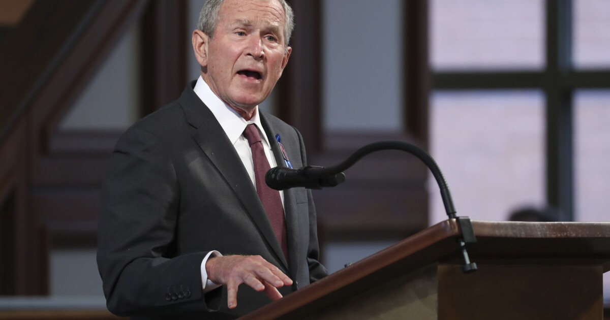 George W. Bush to scheduled to speak in Beverly Hills, Long Beach