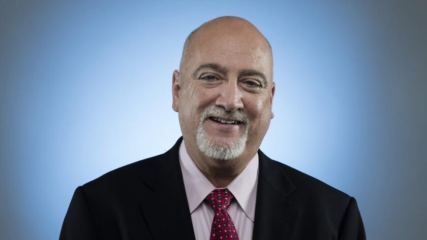 Los Angeles Times columnist Bill Plaschke.