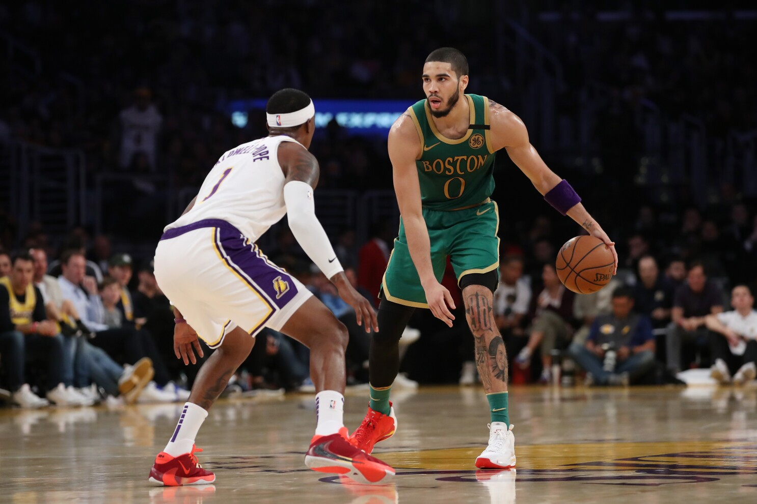 How Boston's Jayson Tatum became a superstar in 10 games - Los ...