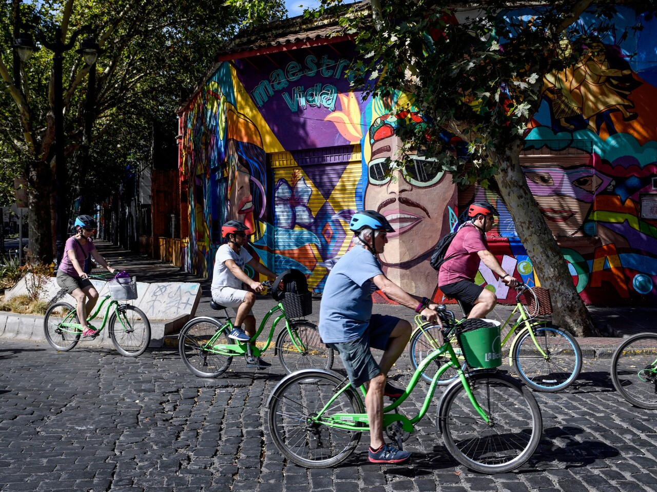 Biking in Chile