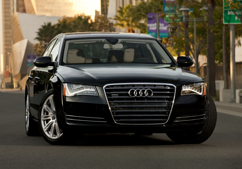 2013 Audi A8 L, an affordable luxury CPO option
