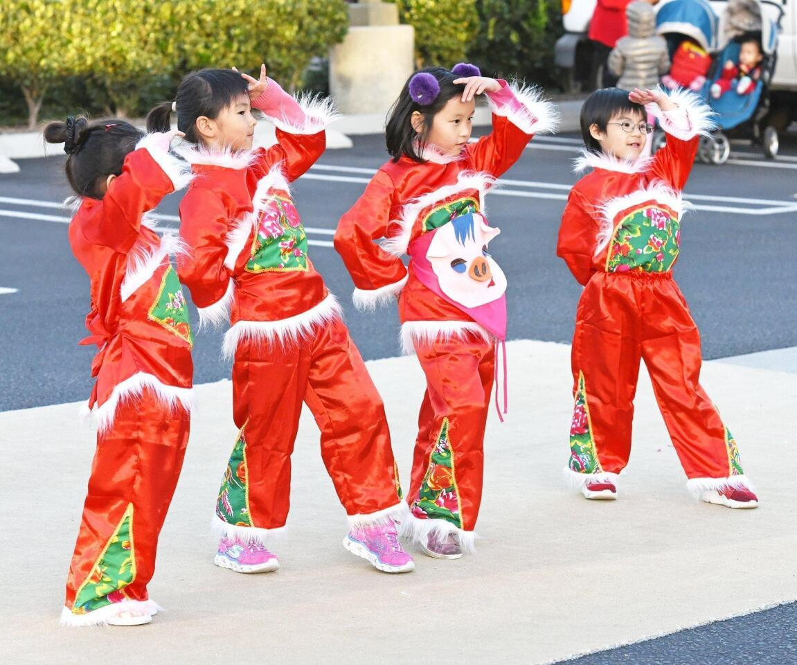 4S Ranch Library's Lunar New Year celebration - 2/6/2019