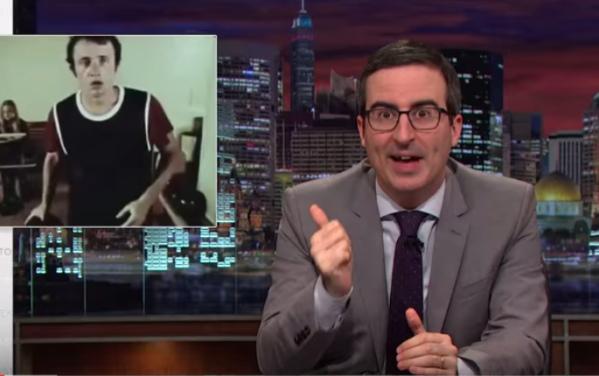 "John Oliver investigates the country's inconsistent sex education policies on his HBO program, ""Last Week Tonight."""