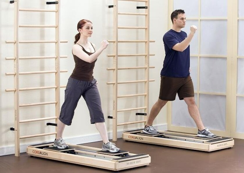 CoreAlign offers the smooth, easy movements of mind-body exercise but with a heart-pounding difference.