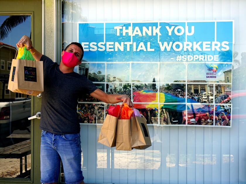 San Diego Pride Executive Director Fernando Lopez