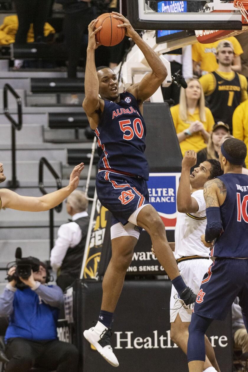 Auburn Missouri Basketball