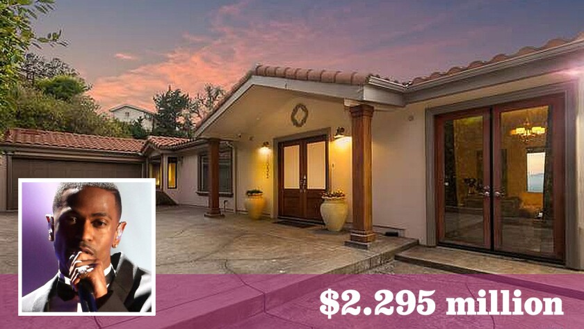 Hip-hop artist Big Sean has put his home in Hollywood Hills West up for sale at $2.295 million.