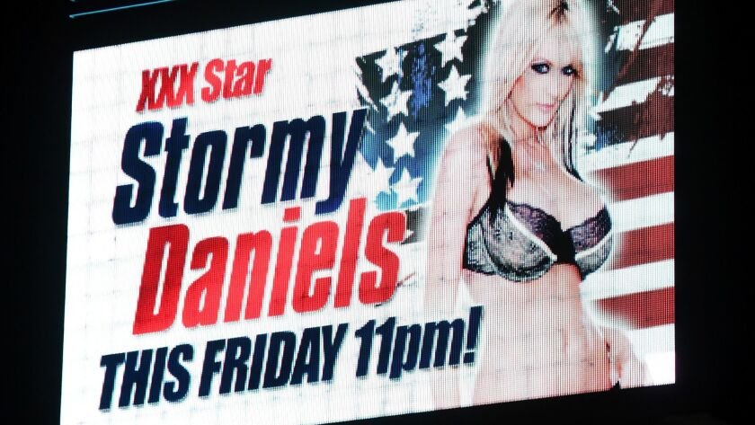 Las Vegas strip club advertises appearance by Stormy Daniels