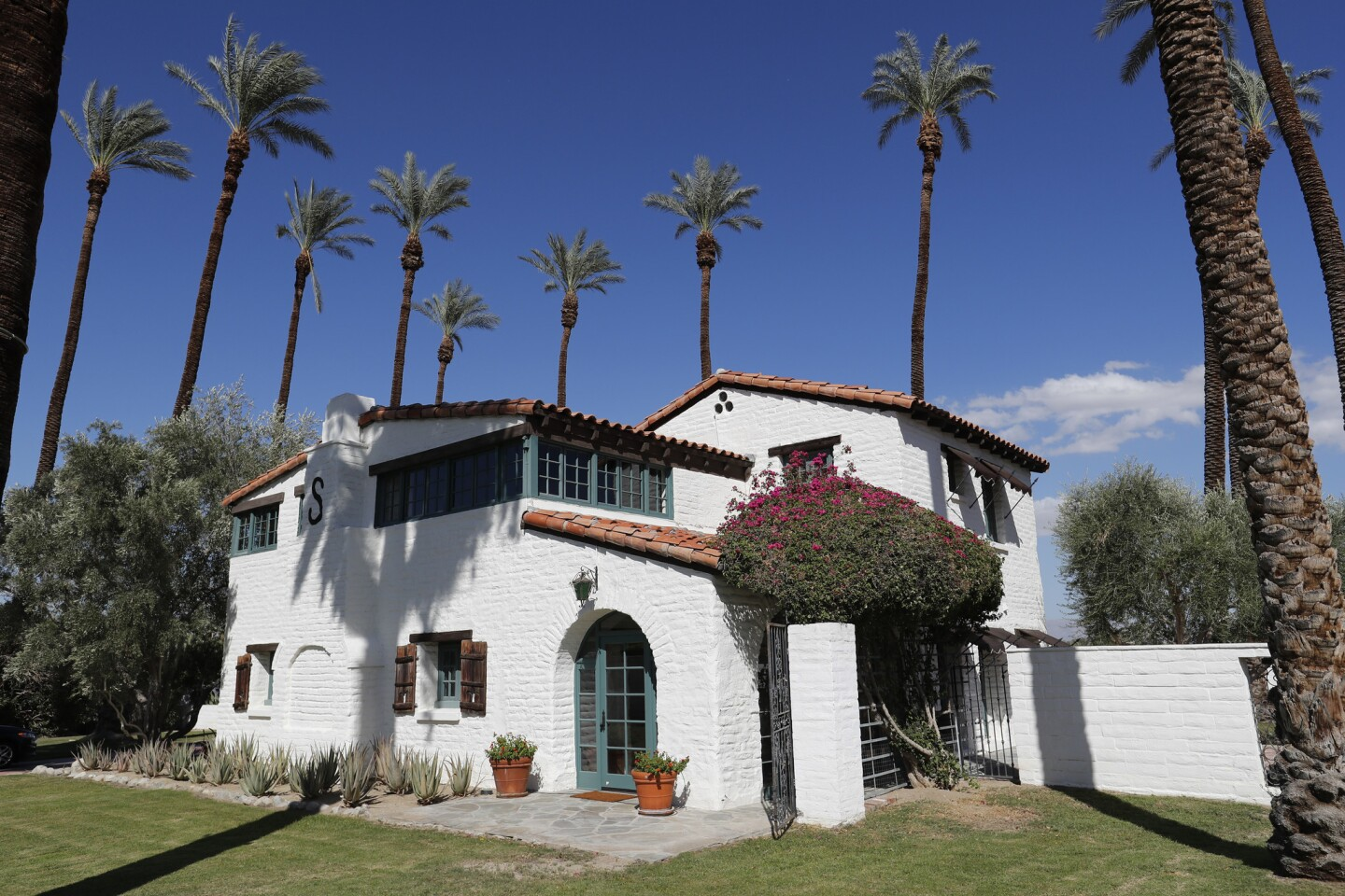 The historic 1922 Cavanagh Adobe in Indian Wells is one of the oldest adobe homes in the Coachella Valley. Situated on an acre of land and populated with huge date palms, the home will be open to the public during the Modernism Week Fall Preview on Oct. 19-22.