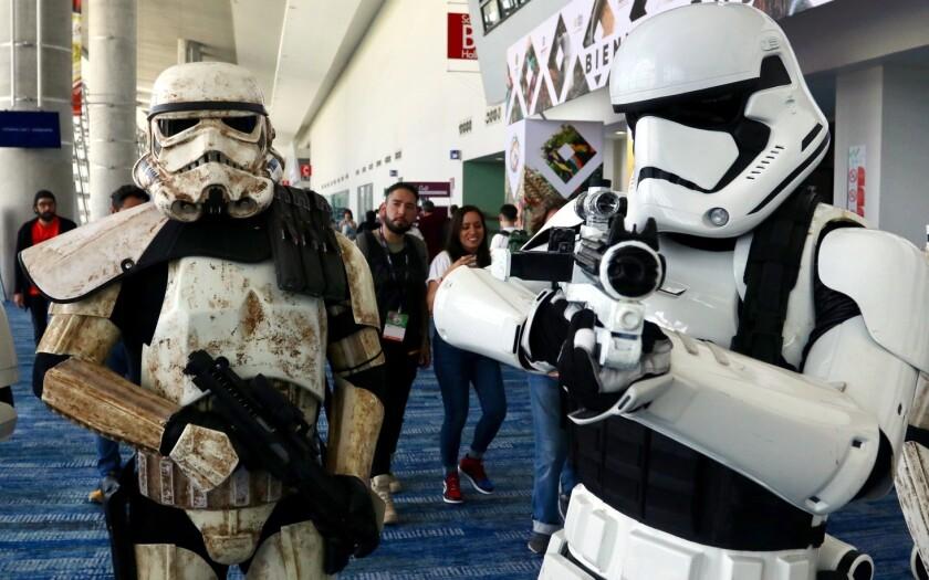 Los Storm Tropper de Star Wars