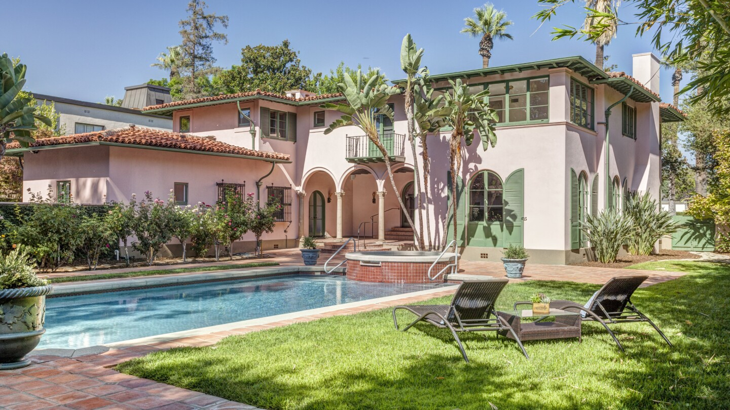 Johnny Mountain's Wallace Neff-designed home in Pasadena | Hot Property
