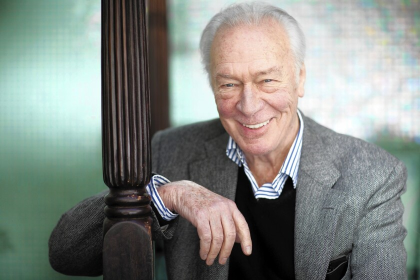 """Christopher Plummer admits that his one-man show, """"A Word or Two,"""" opening at the Ahmanson, is a test of his stamina."""
