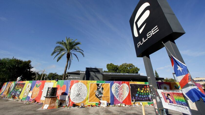 The Pulse nightclub in Orlando, Fla. on Nov. 30