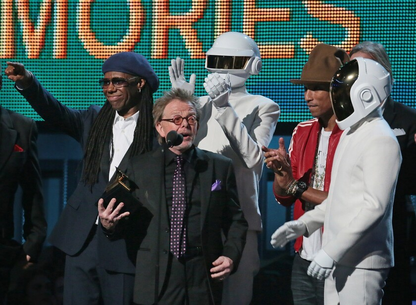 Grammys 2014: Paul Williams, Nile Rodgers speak for Daft Punk