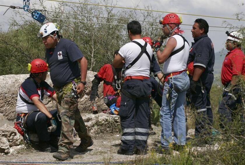 Un grupo de 150 brigadistas trabaja en el rescate de siete mineros atrapados tras el colapso de un muro en la mina Río Tinto que dejó un saldo de al menos un muerto, informó hoy Protección Civil del estado mexicano de Chihuahua, norte del país. EFE/Archivo
