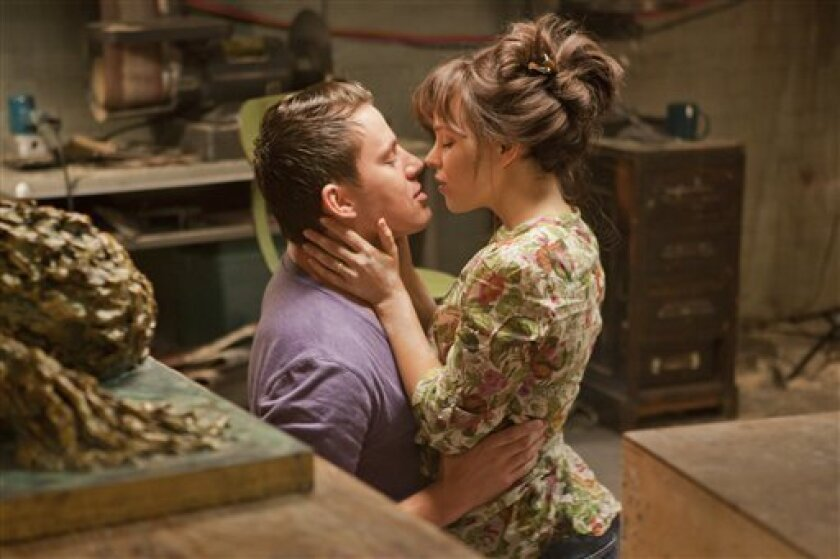 """In this image released by Columbia Pictures, Rachel McAdams, left, and Channing Tatum are shown in a scene from """"The Vow."""" (AP Photo/Columbia Pictures/Sony, Kerry Hayes)"""