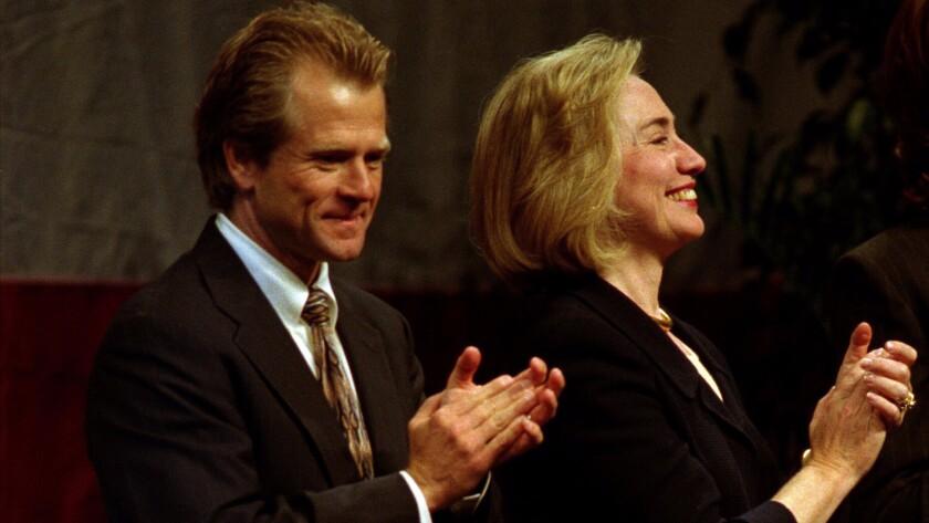 Hillary Clinton and Peter Navarro