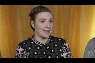 Lena Dunham discusses her sister's role in 'Suited'