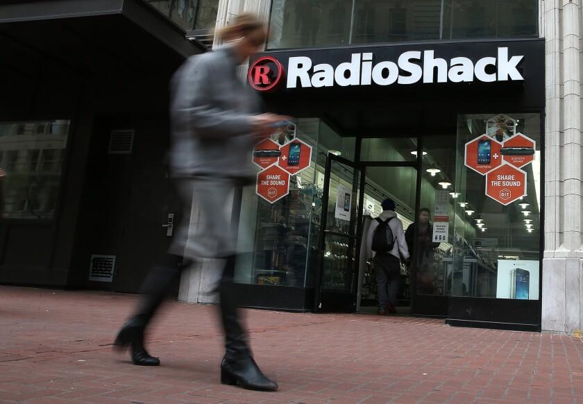 A Radio Shack store in San Francisco.