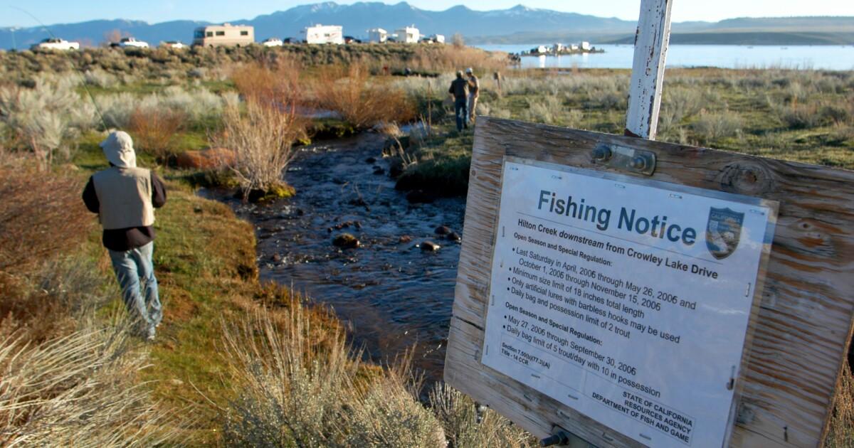 Angryカリフォルニアアを破壊sportfishing禁止会議